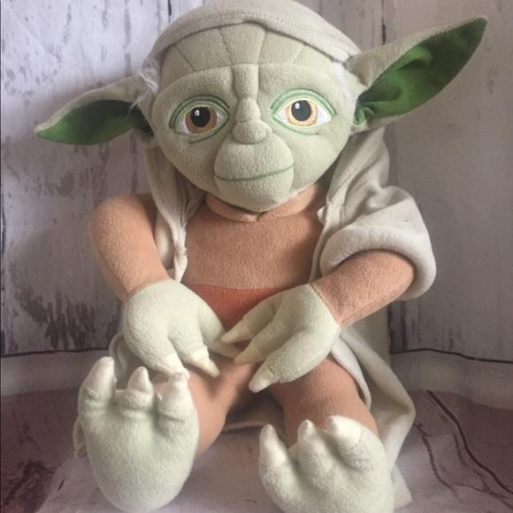 Star Wars Other Yoda Plush 19 Poshmark